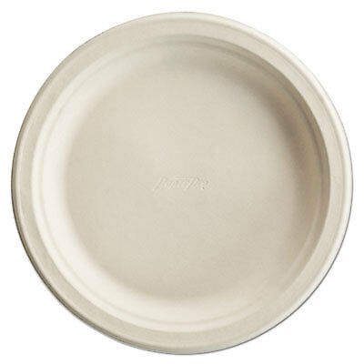 Paper Pro Round Plates, 6 Inches, White, 125/Pack 25774