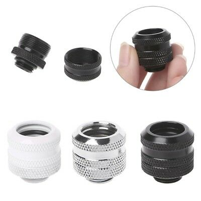 OD14mm Hard Tube Fitting Hand Compression Fitting G1/4'' 10x14mm Hard Pipe