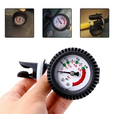 Air Pressure Thermometer Connector Gauge For Inflatable Boat Kayak Raft Surfing