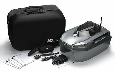 ND Tackle Wireless Remote Control Bluetooth Autopilot carp Bait Boat with bag
