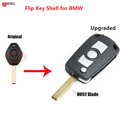 Flip Folding Remote Key Shell Case Fob for BMW 3 5 7 SERIES Z3 Z4 E38 E39 E46