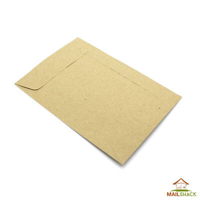Small Brown Dinner Money Envelopes, Ideal for Petty Cash, Wages, Coins or Seeds