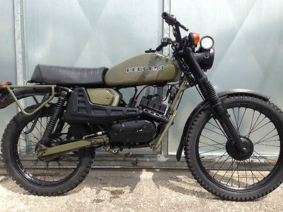 PEUGEOT 80cc SX8 AR FRENCH ARMY TRIALS TRAIL BIKE VERY RARE £1895 OFFERS PX