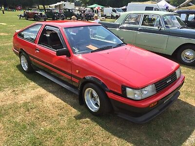 Toyota Corolla GT coupe ,1.6 twin cam  ae86 uk car