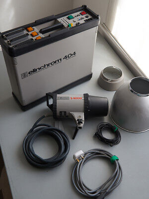 Elinchrom 404 Pack with S4 Head and Cables