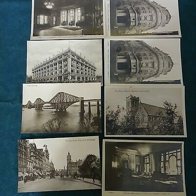 Antique British Postcard Lot Of 32 Vtg Post Card UK Piccadilly cumberland