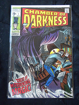 Chamber of Darkness #1 FN (6.0) Marvel, 1969 Bronze Age Horror by Stan Lee