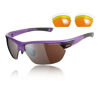 Sunwise Unisex Kennington Interchangeable 4 Sets Of Lenses - Purple Sports