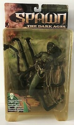 Spawn The Dark Ages | Viper King Figur | Rarität | Neu | 1999