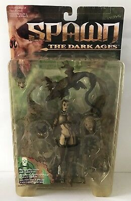 Spawn The Dark Ages | The Necromancer Figur | Rarität | Neu | 1999
