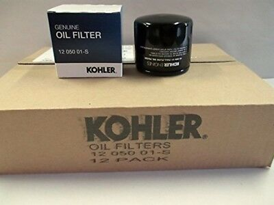 OEM Kohler 12 Pack Oil Filter For CH18 - CH25 And CV18 - CV25- Part# 12 050 01-S