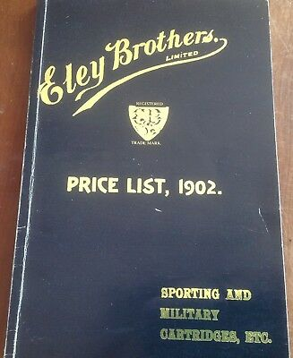Eley Brothers Price List 1902