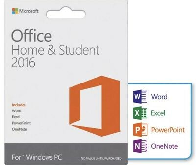 Microsoft Office Home and Student 2016 Retail Product Key For Windows