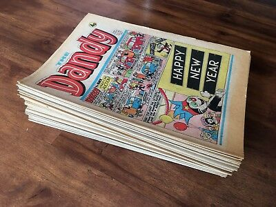 Dandy 1976 Comic Complete Year 52 Issues Korky Desperate Dan