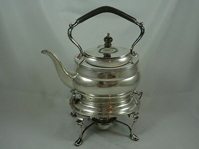 SMART,  solid silver KETTLE ON STAND, 1922, 1245gm