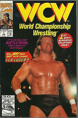 WCW Lex Luger Marvel Comics Issue 1 April 1992 Pro Wrestling Comic