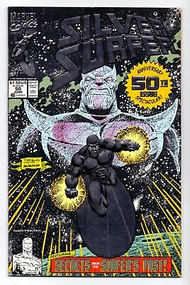 SILVER SURFER  #50  2nd   print   VF-/ FN+  1991   AMERICAN  MARVELL  17B