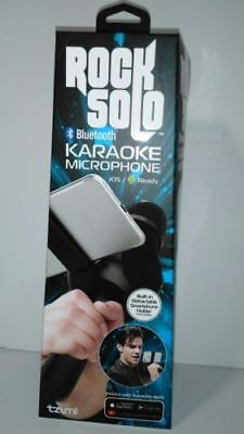 Enjoyable! Tzumi Rock Solo Karaoke Microphone Speaker Bluetooth (Black)