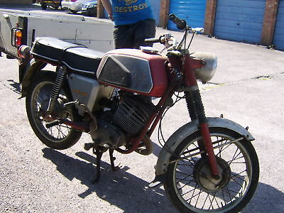 Vintage Old Puch Motorbike Renovation Project