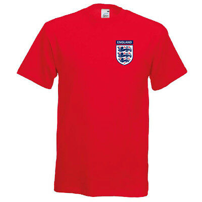 England World Cup 2018 Football Kids T-Shirt Retro Soccer Top Shirt Tee tshirt