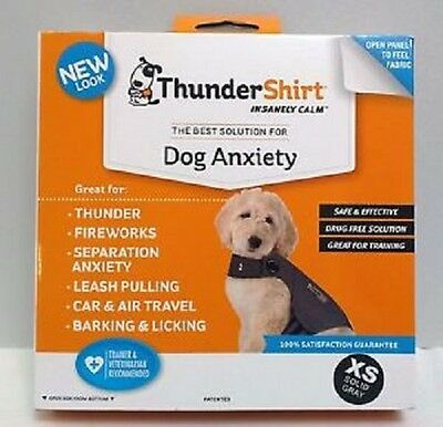 Thundershirt - Solution for Dog Anxiety Gray - X-Small 8-14lbs