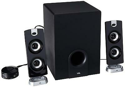 Desktop Computer Speaker With Subwoofer For Gaming Multi Media Pc Speakers Black