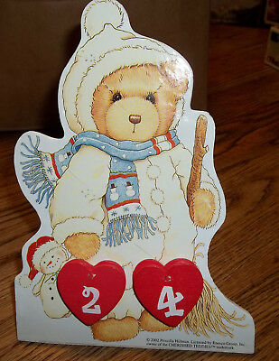 2003 Cherished Teddies Christmas Countdown Calendar New In Box