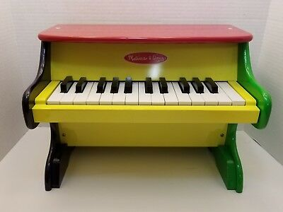 Melissa Doug Learn To Play Pink Piano With 25 Keys And