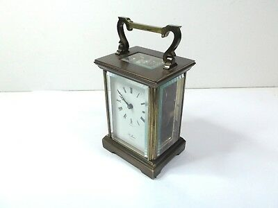 Vintage St James London carriage clocks brass mantel carriage clock