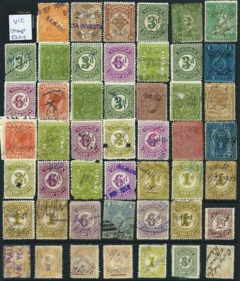 VICTORIA - QV Bulk Revenue / Stamp Duty stamps  (Full Sheet) x 48 Stamps [6550]