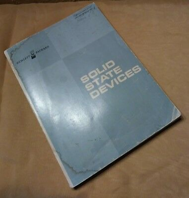 Vintage Hewlett Packard Solid State Devices Manual