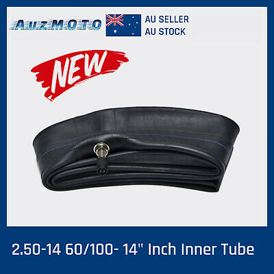 "60/100 2.50/2.75 - 14"" Inch Front Inner Tube 110cc 125cc PIT TRAIL Dirt Bike Pro"