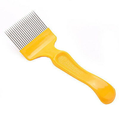 Stainless Steel Bee Keeping Honey Comb Beekeeping Tine Uncapping Fork.Hive Tool