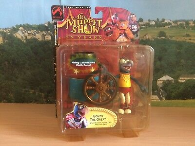 "Gonzo the Great, The Muppet Show 25 Years, Figure Palisades Toys in OVP ""Neu"""