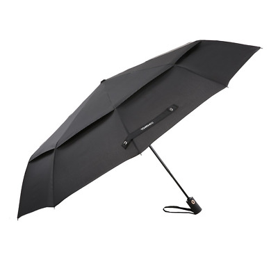 50 Inch Large Windproof Golf Umbrella Auto Open Close Compact Double Canopy Fold
