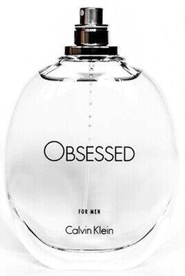 OBSESSED by Calvin Klein cologne for men EDT 4.2 oz New Tester