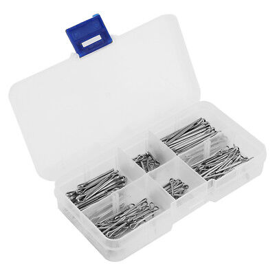 175pcs 5 Kinds Zinc Alloy Split-Cotter Pins Assortment Kit Fastener Hardware AF