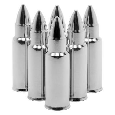 ice tool Wine Bullet Shaped Stainless Steel Chilling Whiskey Stone Barware.Pro