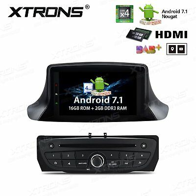 Android 7.1 Car Stereo Radio GPS DVD RDS USB HDMI for Renault Megane III Fluence