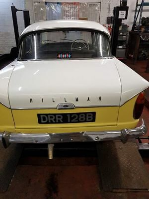 Hillman Super Minx automatic    believed 1 of only 9 left in UK
