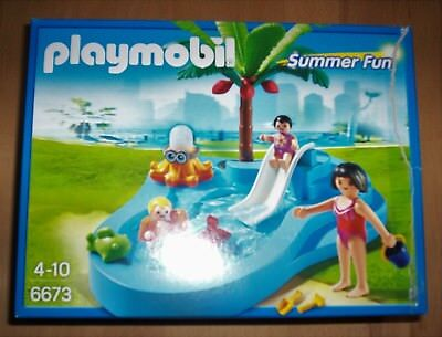 Playmobil 6673 - Babybecken mit Rutsche (Summer Fun)
