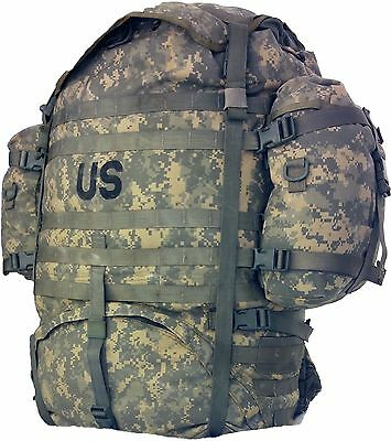 Rucksack Backpack MOLLE II Large Field Pack Complete US Military VG MT