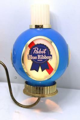 Vintage PABST BLUE RIBBON Wall Mount Lamp PBR Mancave Bar Decor Sconce PBR Beer