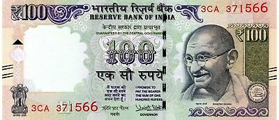INDIA 100 Rupees 2017 P NEW Letter E UNC Banknote