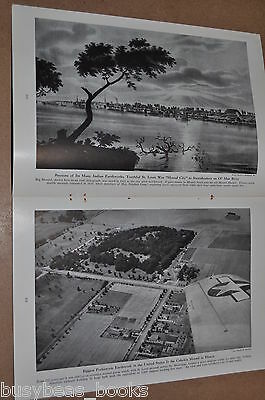 1948 magazine article, North American PYRAMIDS, Mexico, Burial Mounds St Louis