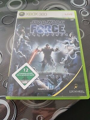 Star Wars: The Force Unleashed (Microsoft Xbox 360, 2008, DVD-Box)