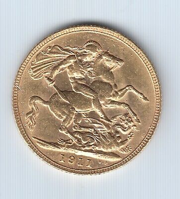 1911 Great Britain Sovereign Gold Coin