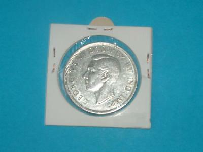 Canada 1945 George Vl Silver Dollar    LOT 37