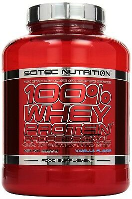 (13,76€/1kg) Scitec Nutrition 100% Whey Protein Professional - 2350g - Vanille