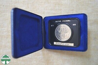 1971 Silver Canada Dollar - Proof Like - Commemorative